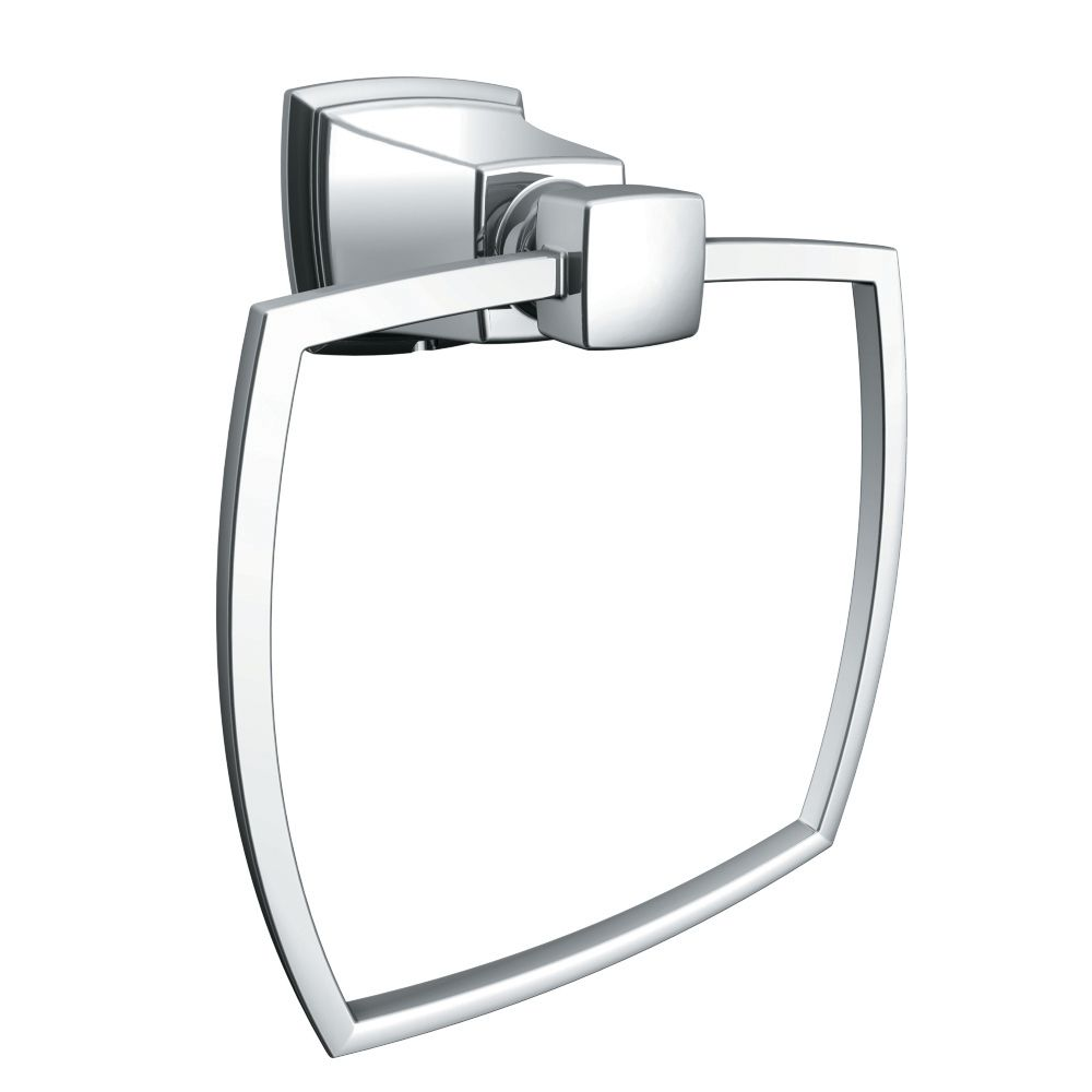 Boardwalk Towel Ring - Chrome